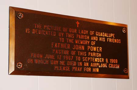 Fr. John Power Memorial Plaque